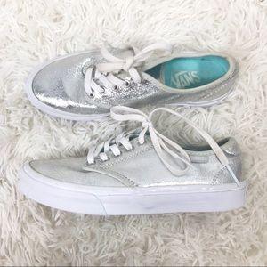 VANS My Camden Metallic Silver Shoes